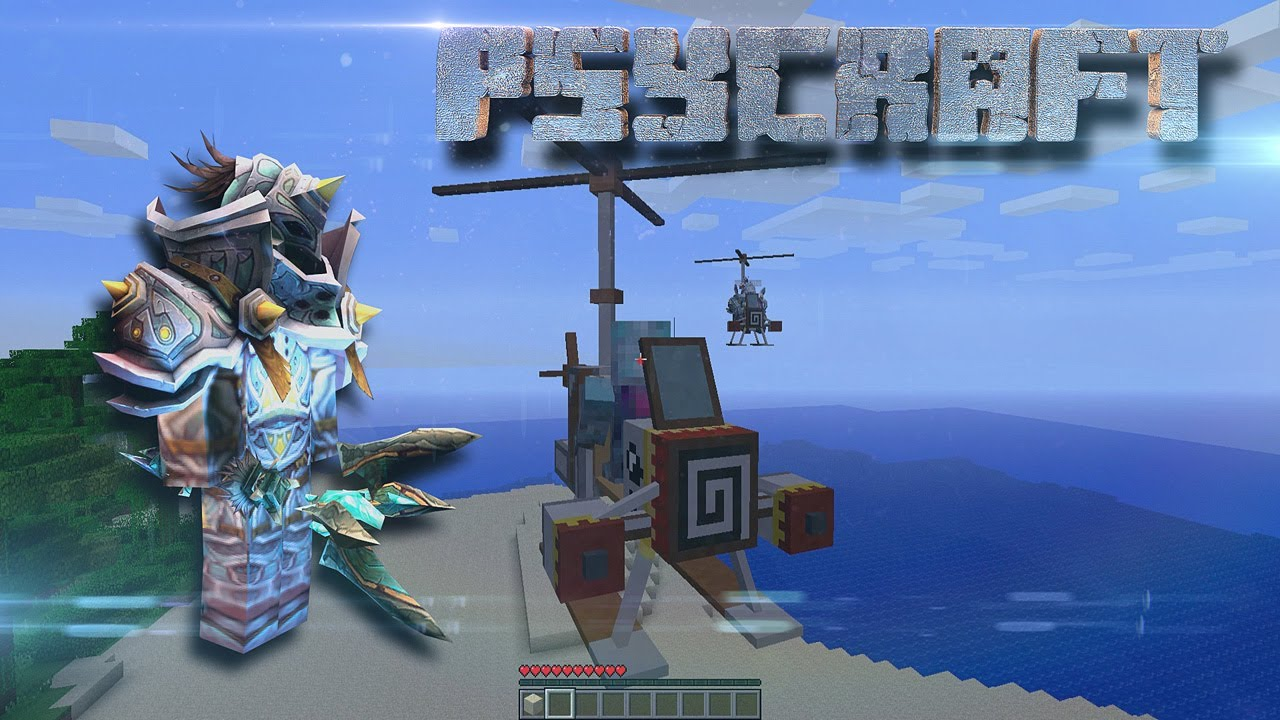 PsyCraft: New Minecraft Mod Free Download + Giveaway