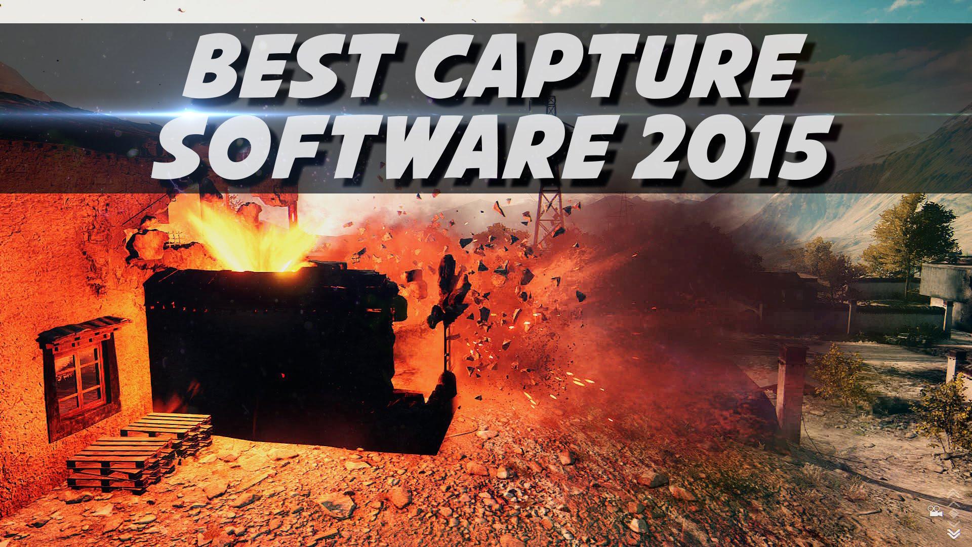 Best Video Capture Software 2015