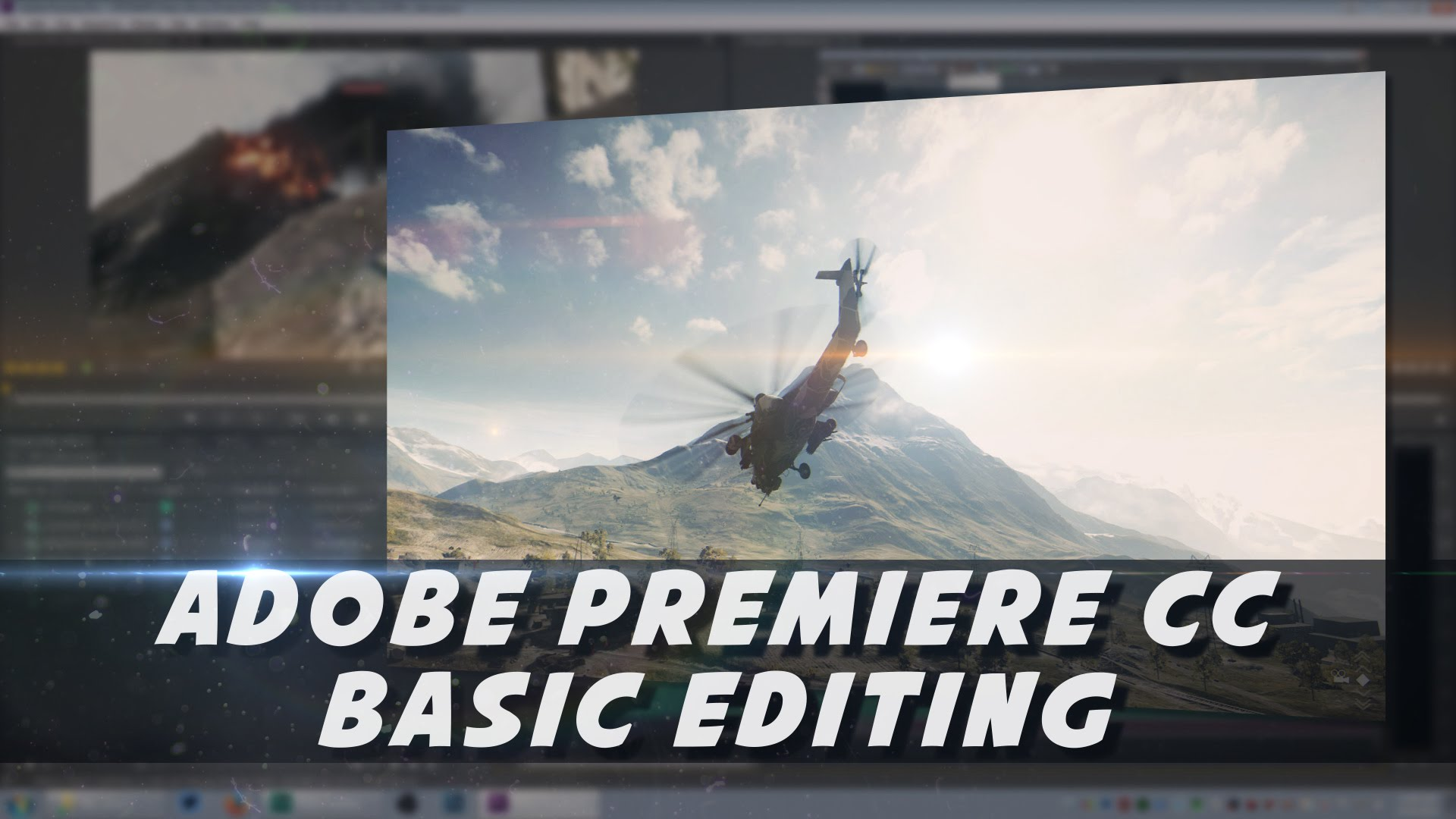 Adobe Premiere Basics – Editing Video & Audio (Psynaps Tutorial)