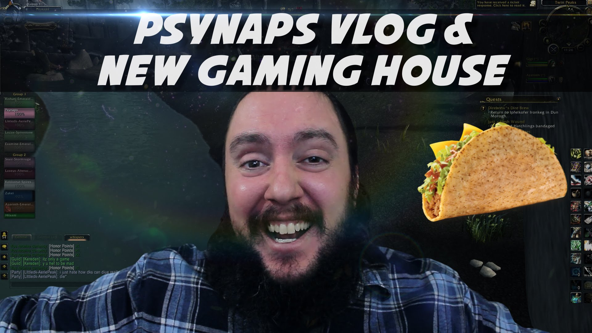 Psynaps Vlog: New Gaming House (fiber farm taco mansion) and updates
