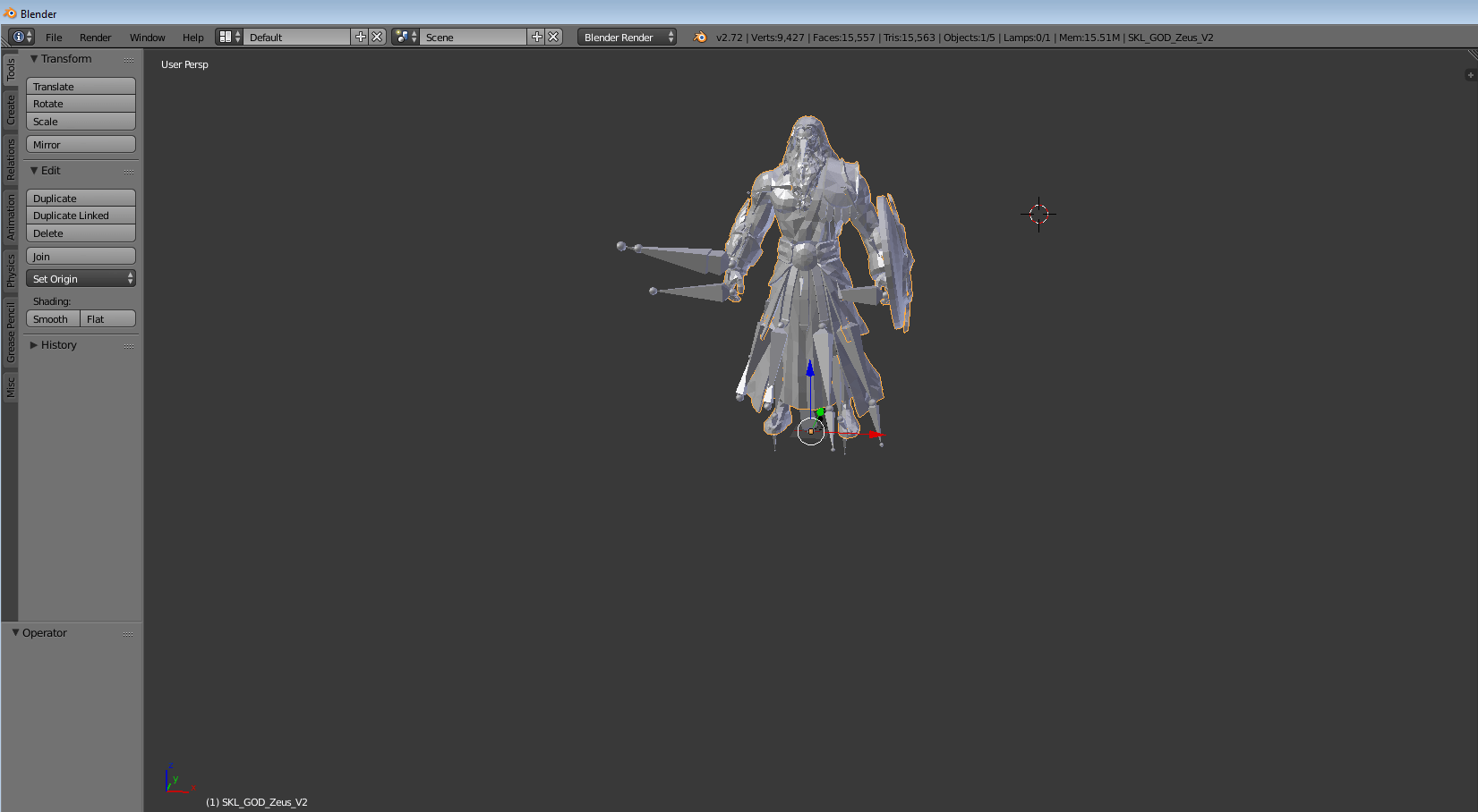 Export 3D Smite Characters to Blender and Cinema 4D