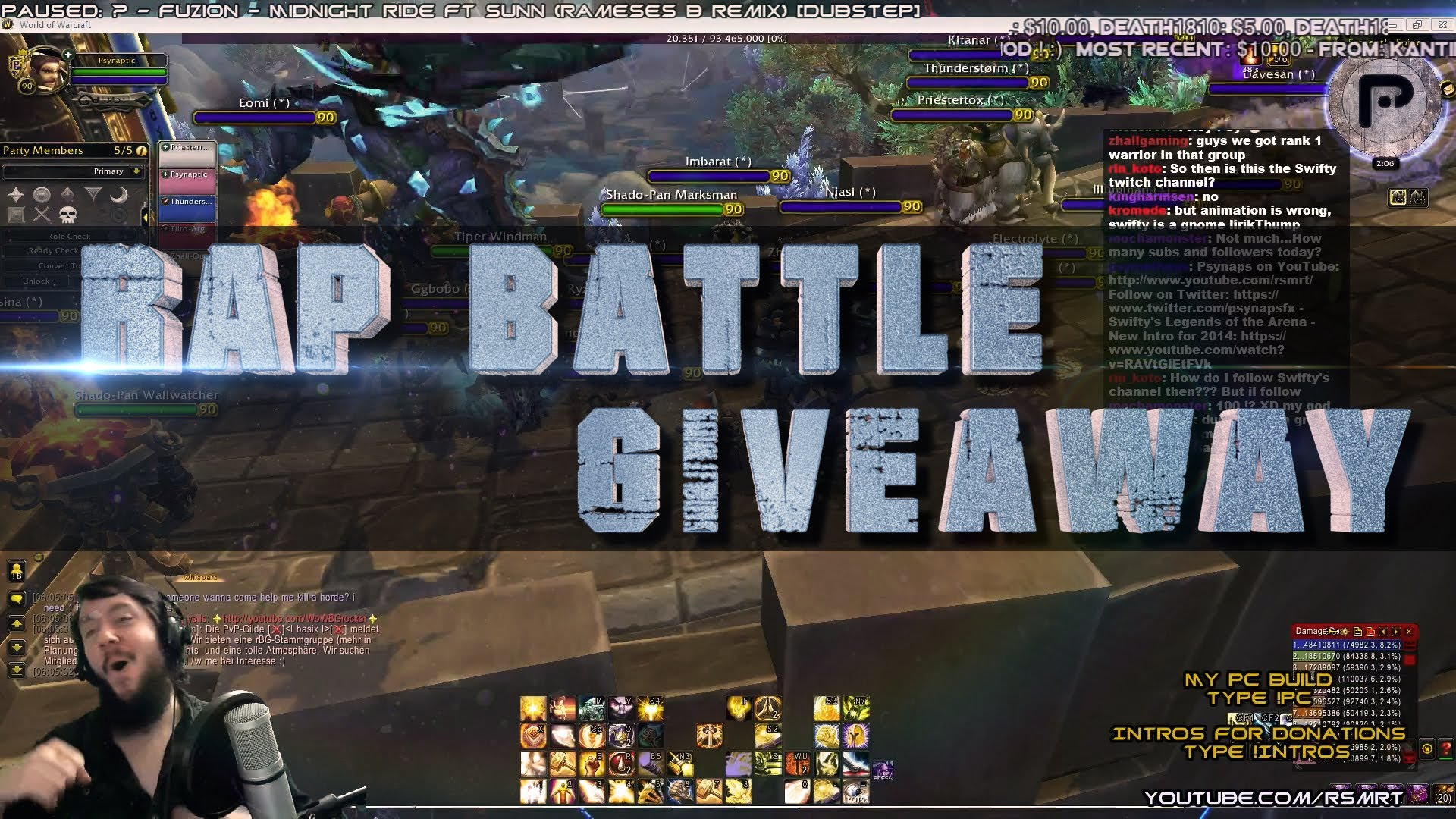 Epic Rap Battle + Freestyle Giveaway (Monstercat Music Giveaway)