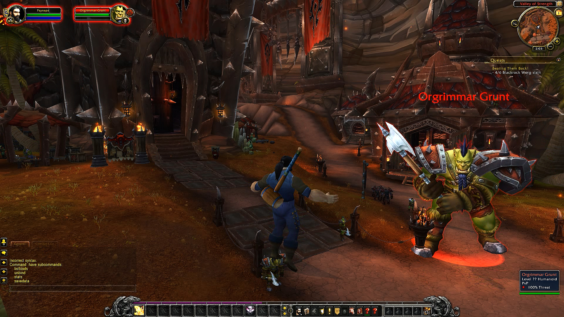 Psynaps Private WoW Server for Video Capture (WoD)