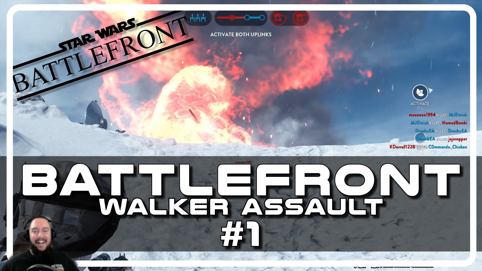 Star Wars Battlefront Walker Assault with Psynaps #1 (Gameplay Funny Moments)