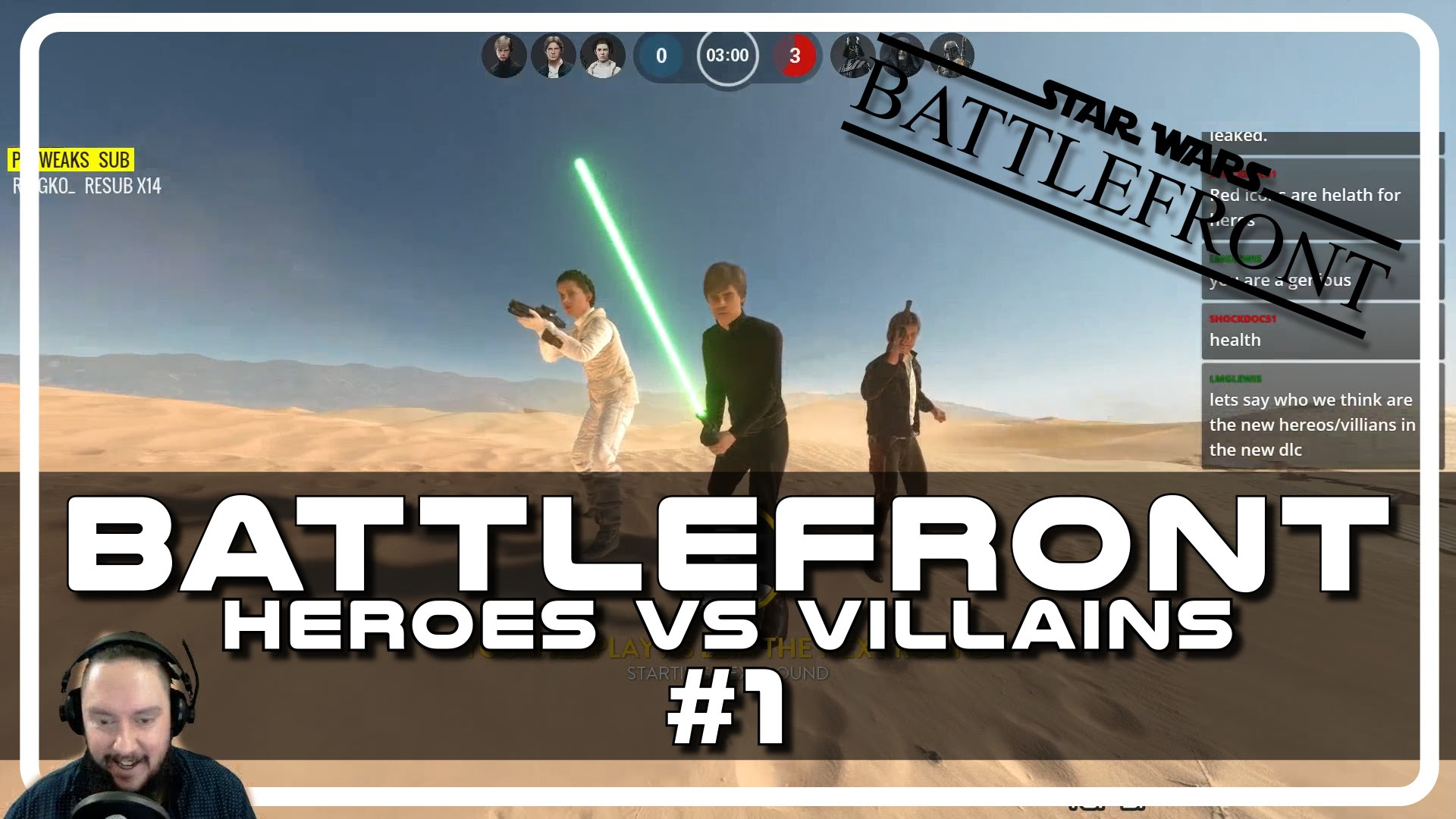 Star Wars Battlefront Heroes vs Villains with Psynaps #1 (Gameplay Funny Moments)