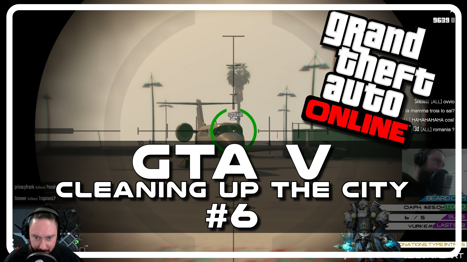 GTA V – Cleaning up the City w Psynaps #6 (Online PC Gameplay Funny Moments)