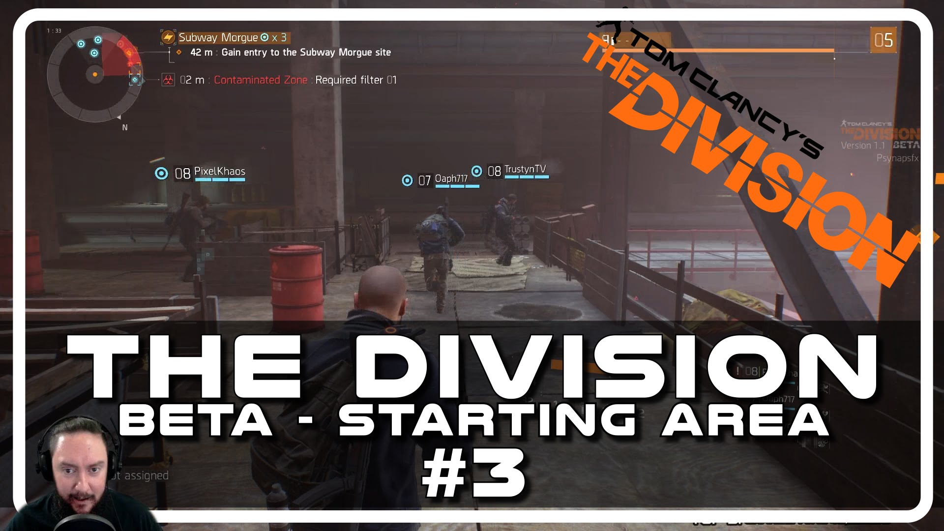 The Division Beta – Drunken Starting Area with Psynaps #03 (PC Gameplay Funny Moments)