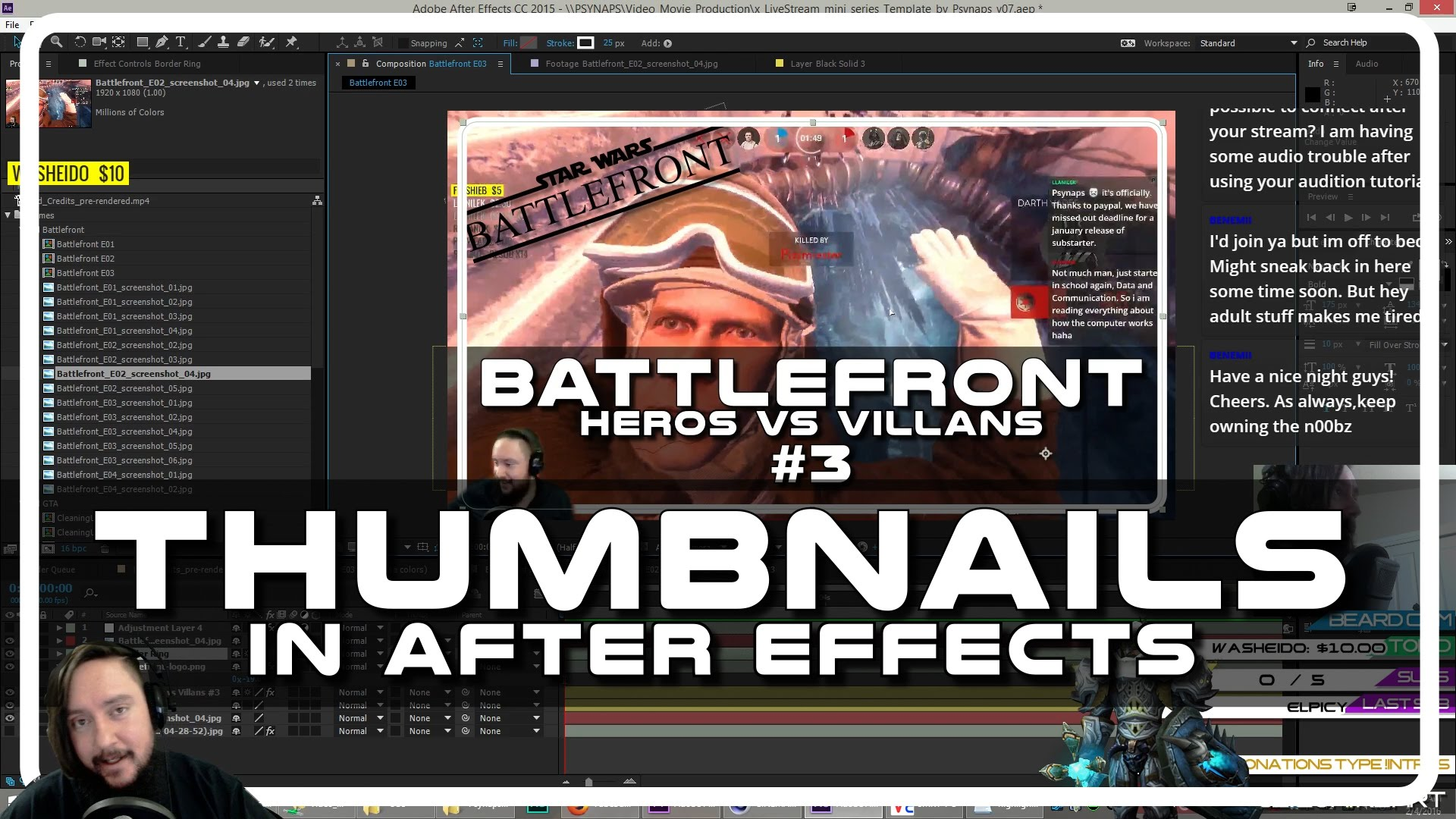 Thumbnail Maker in After Effects – Psynaps AE Tutorial