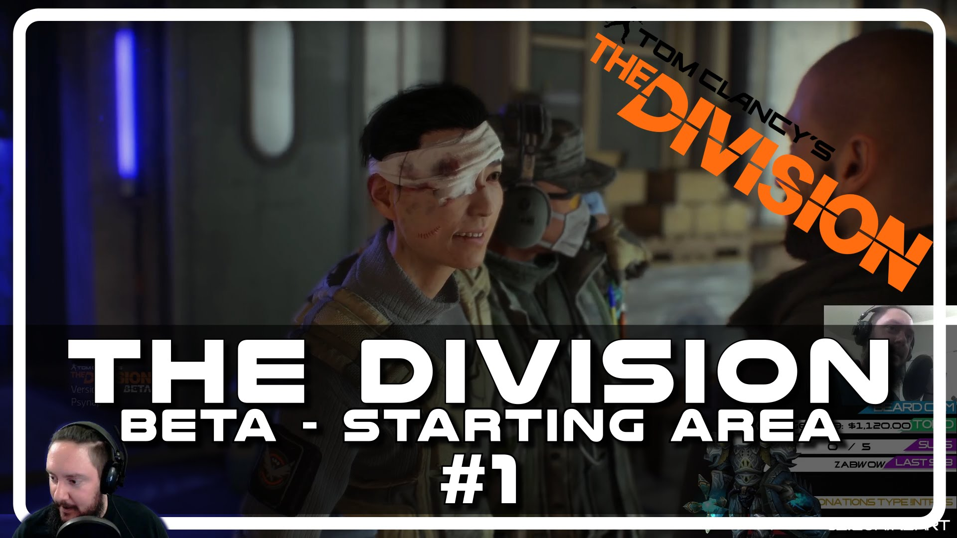 The Division Beta – Drunken Starting Area with Psynaps #01 (PC Gameplay Funny Moments)