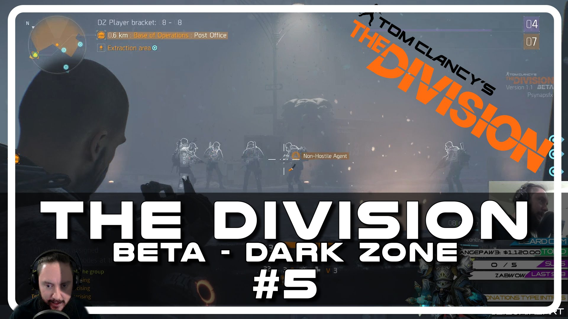 The Division Beta – Drunken Dark Zone with Psynaps #05 (PC Gameplay Funny Moments)
