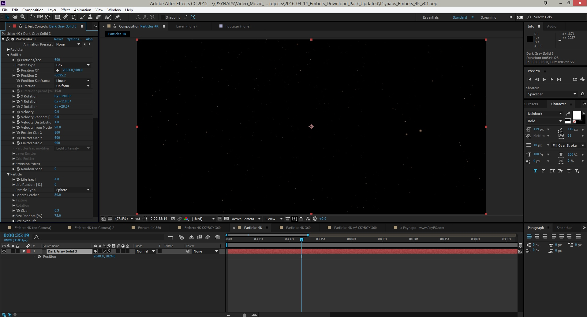 Adobe After Effects Cc Particle World Download - criseaussie