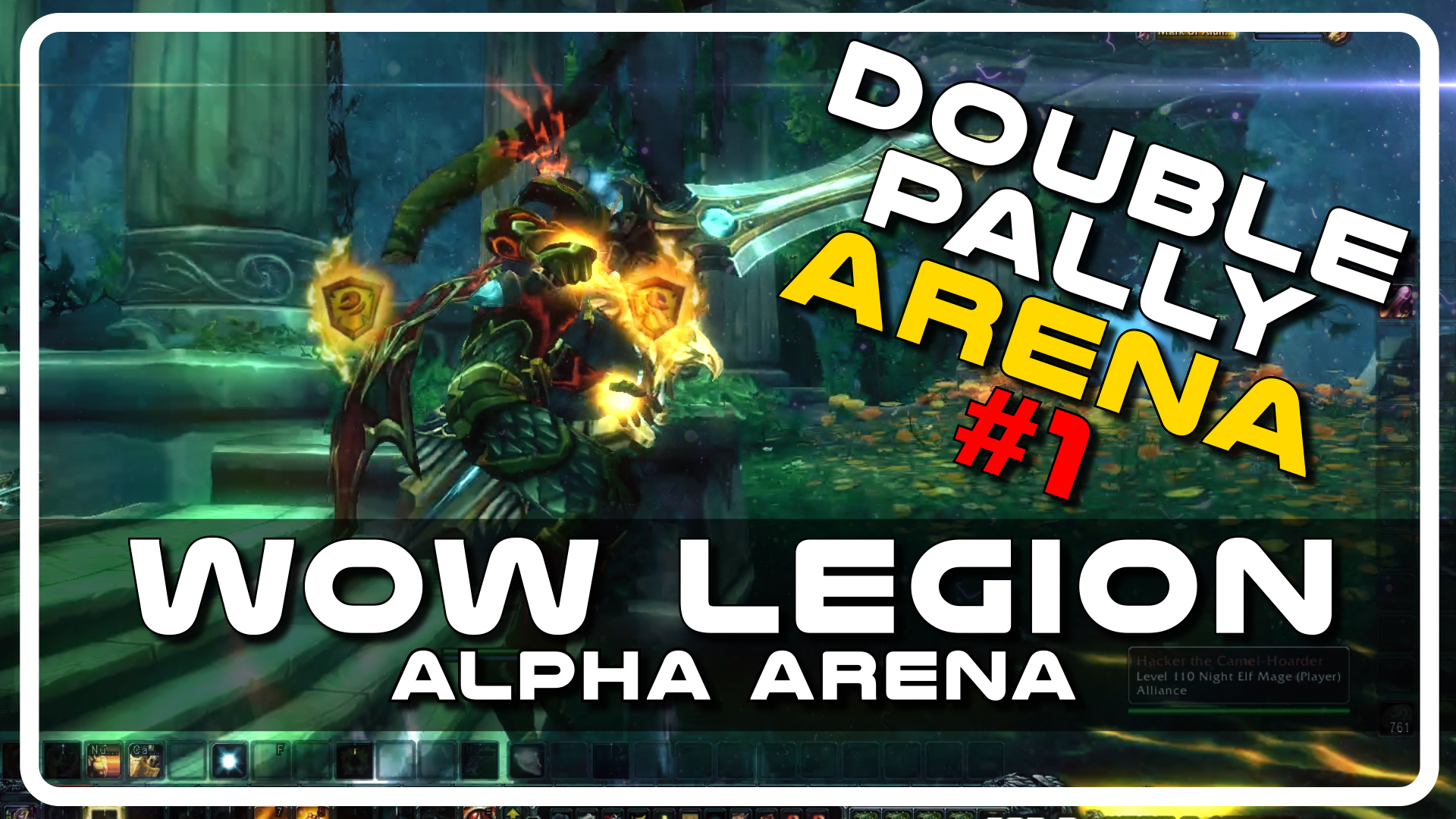 WoW Legion Alpha PvP – Double Paladin Arena with Psynaps and Savix (PvP Gameplay)
