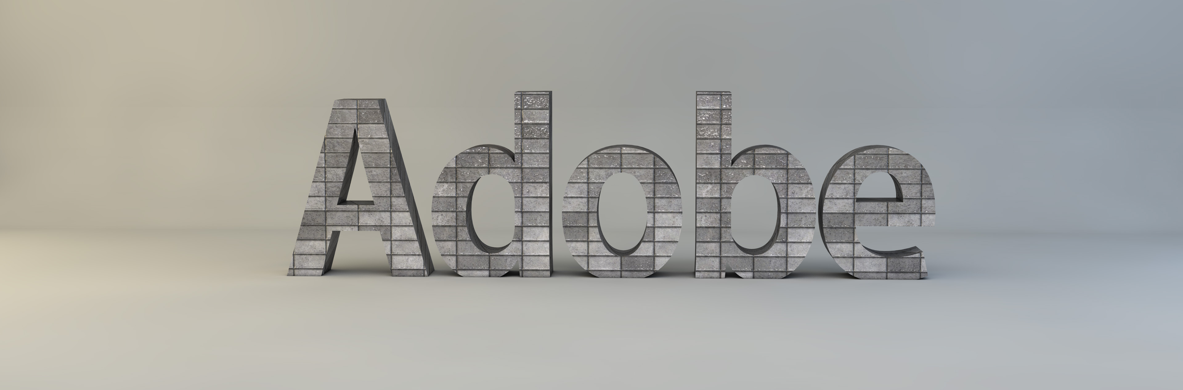 C4D 3D Text/Logo Studio Background Template (Download)
