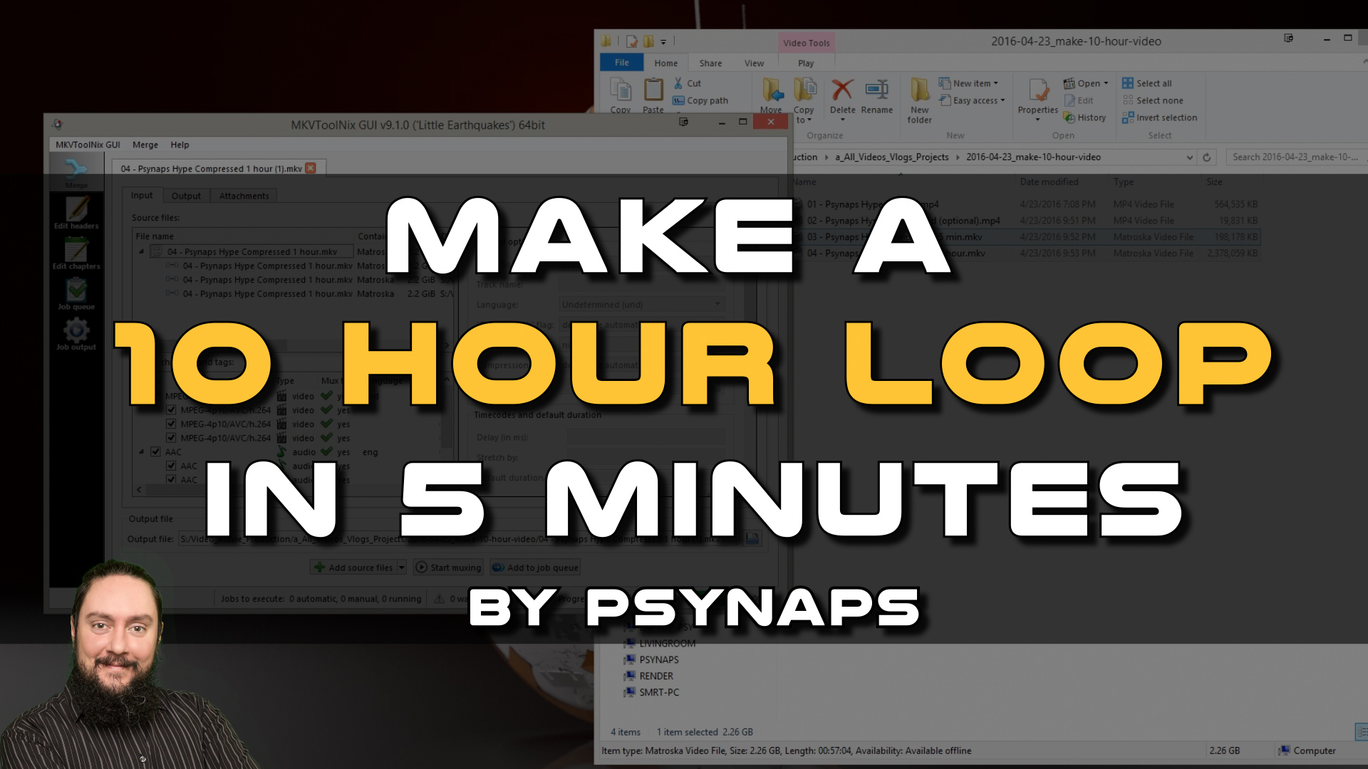 How to Make a 10 Hour Loop on YouTube by Psynaps