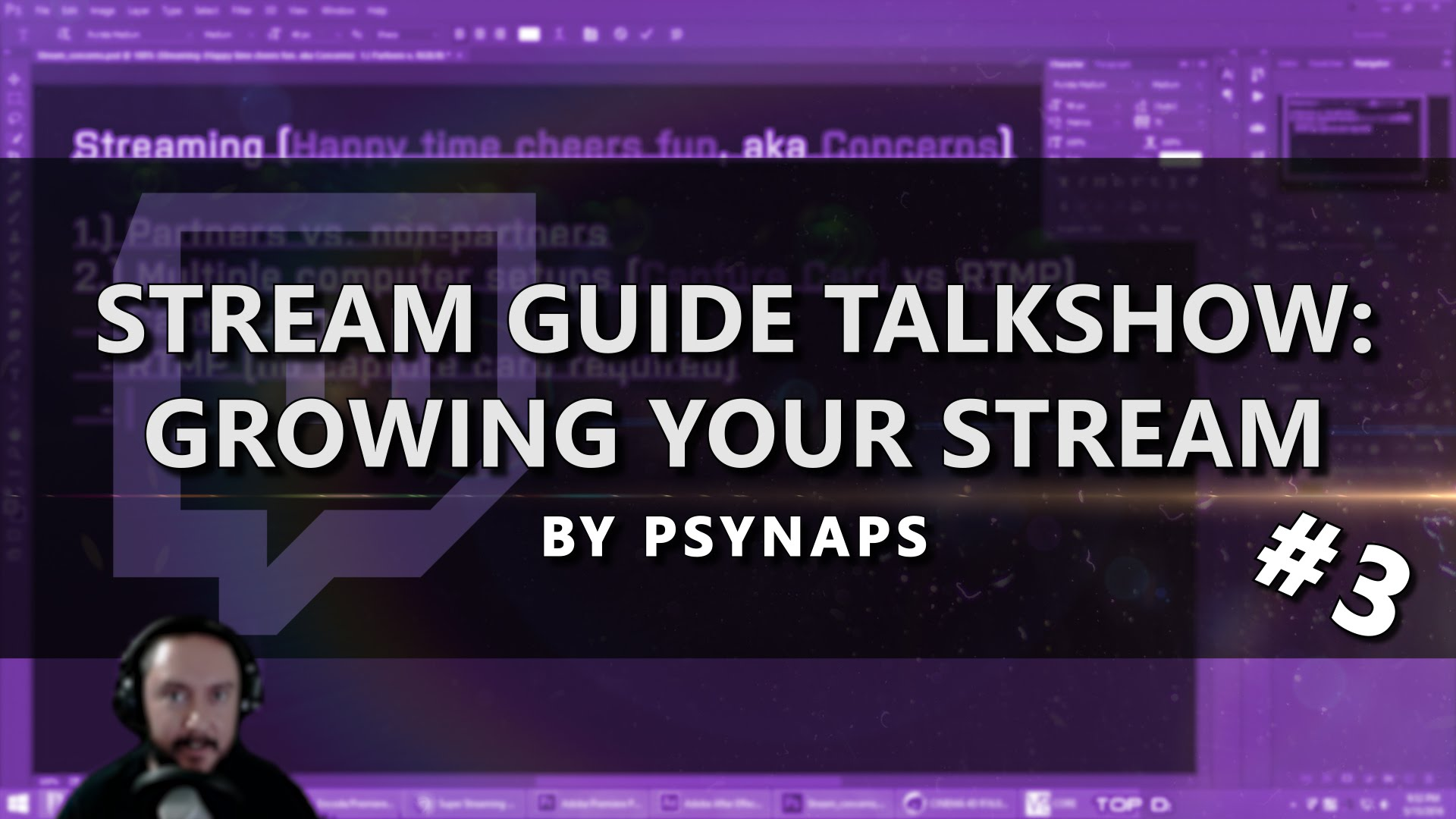 Growing your Stream on Twitch – Stream Guide Talk Show (Part 3/4)