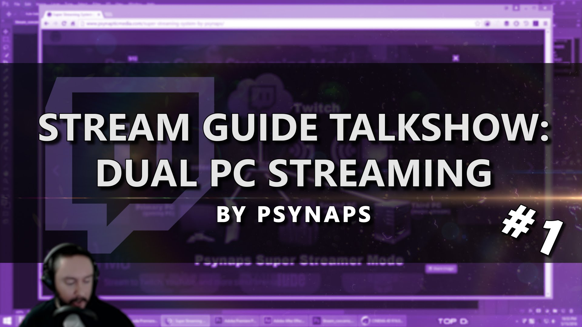 Dual PC Streaming Setup – Stream Guide Talk Show (Part 1/4)