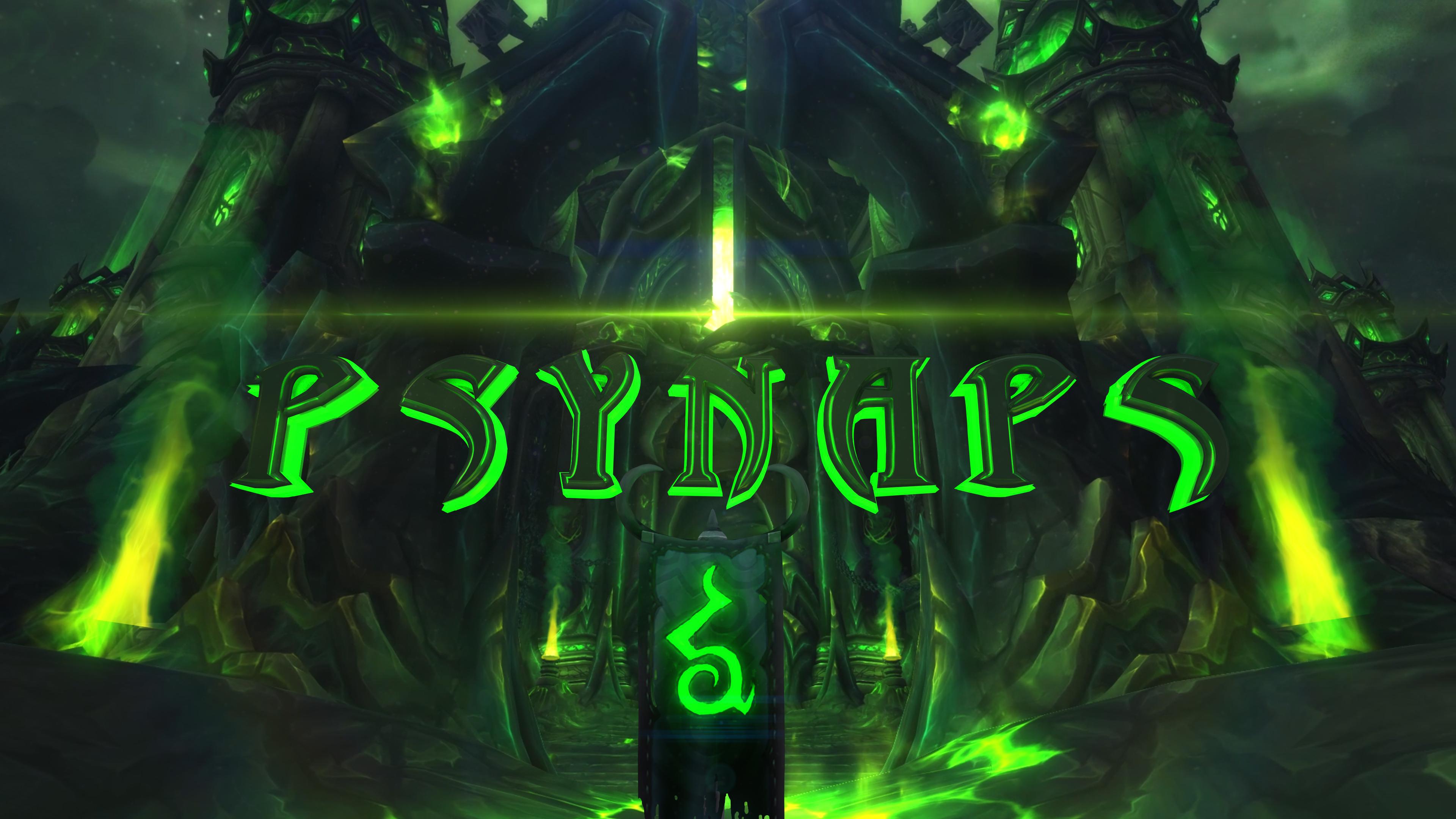 wow legion 4k wallpaper by psynaps psynaptic media by