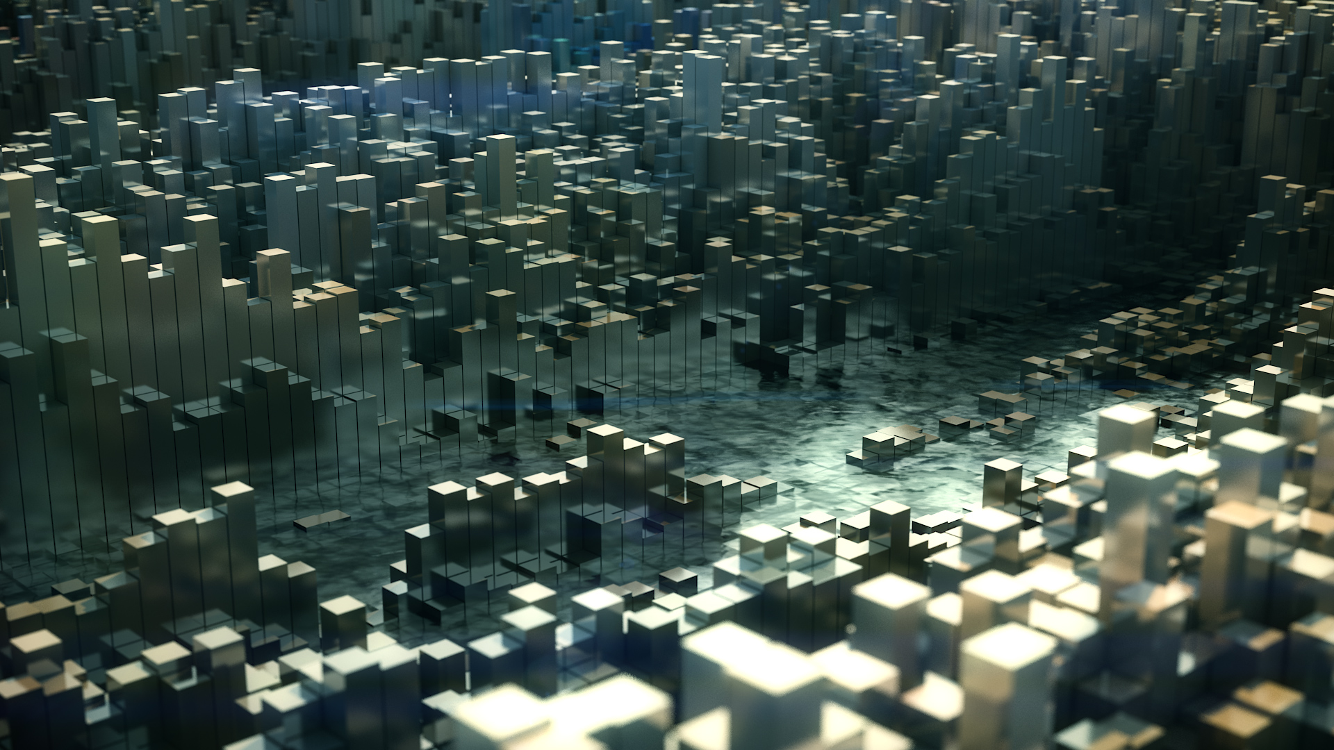Procedural C4D Topography by Psynaps (Project file Download)