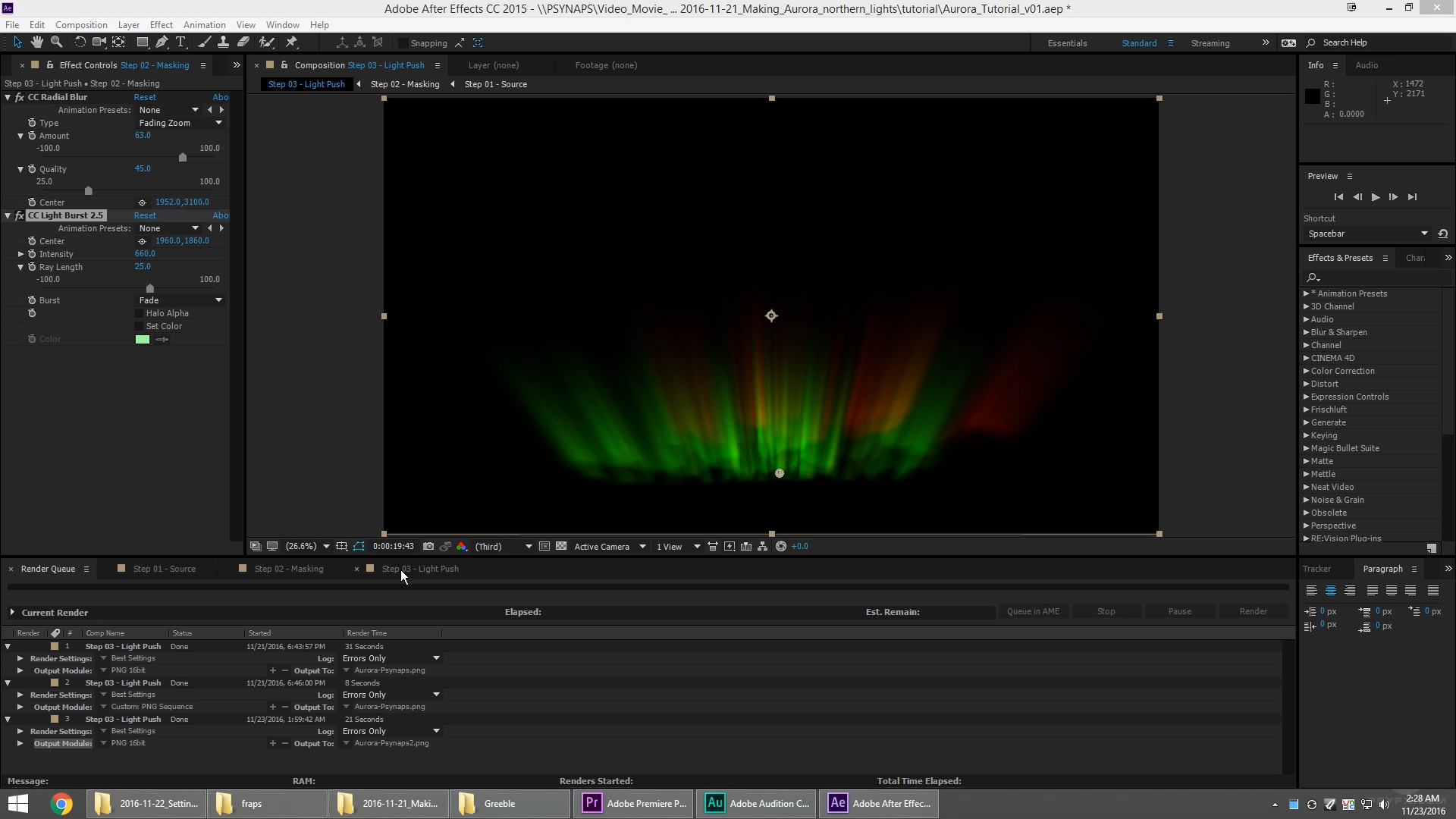 Create an Aurora (Northern Lights) in After Effects (Download Project)