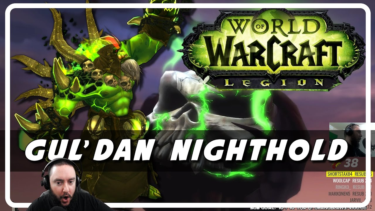 Gul'dan Nighthold – Boss Kill and Cinematic Ending (Psynaps)