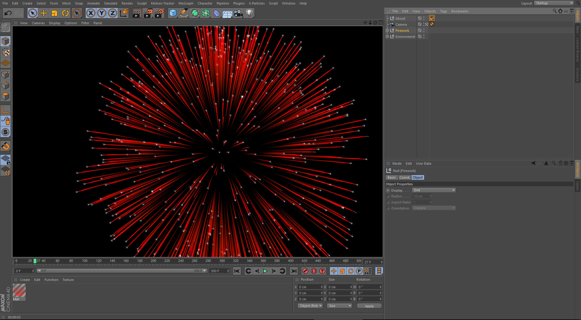 C4D Fireworks Download