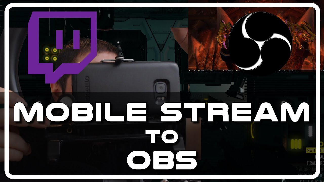 Mobile Stream on Twitch: Use your Phone as a Webcam Source in OBS (from anywhere)